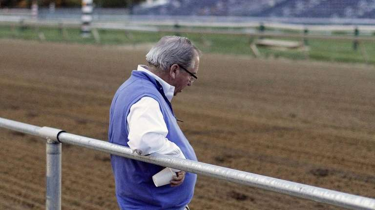 Hall of Fame trainer Claude R.