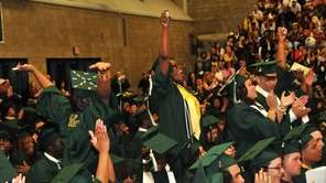 Members of the SUNY Old Westbury graduating Class