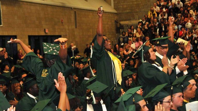 Members of the SUNY Old Westbury graduating Class