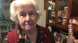 Antoinette Dukacz, 92, lives next door to the
