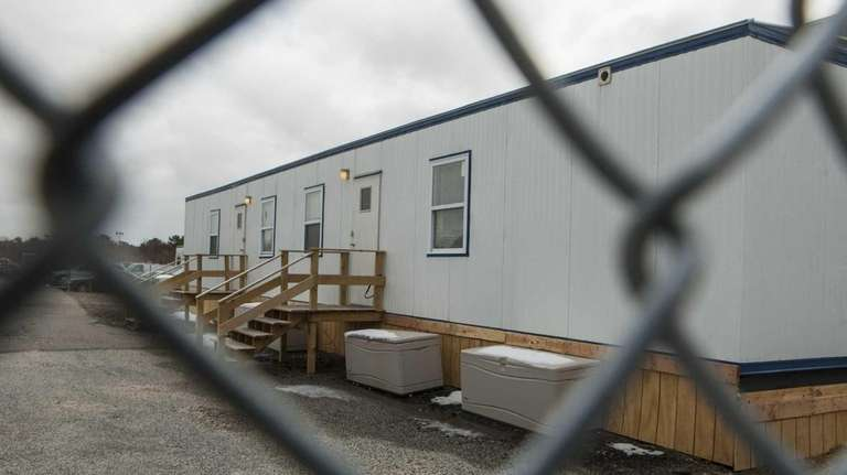 The sex offender trailer is located on the