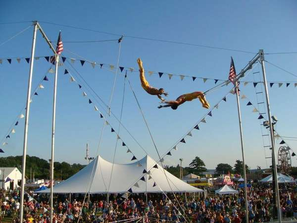 Trapeze acts will be featured at this year's