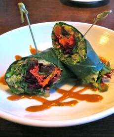 The Summer Roll at Fresh in Bridgehampton is