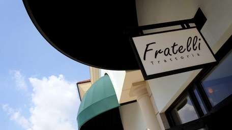The former Fratelli Trattoria at the Arches in