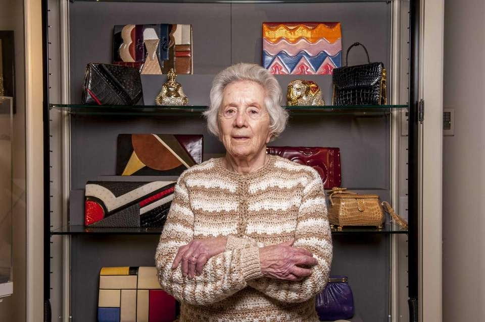 While Leiber is primarily a handbag designer, she's