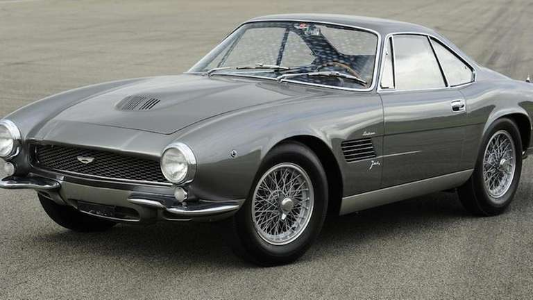 The 1960 Aston Martin DB4GT 'Jet' Coupe that