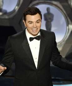 Seth MacFarlane, who hosted, the Oscars this year,