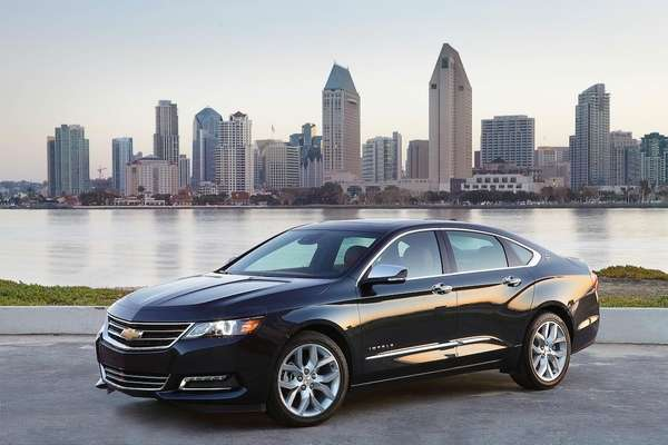 The 2014 Chevrolet Impala is General Motors attempt