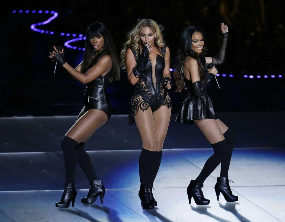 Destiny's Child -- Beyonce, Kelly Rowland and Michelle