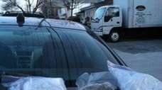 Drugs seized by the New York State Police.