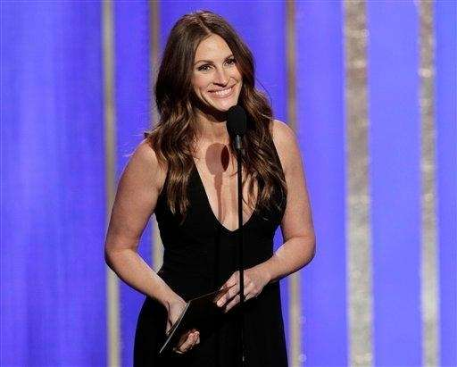 """Pretty Woman"" star Julia Roberts was ranked the"