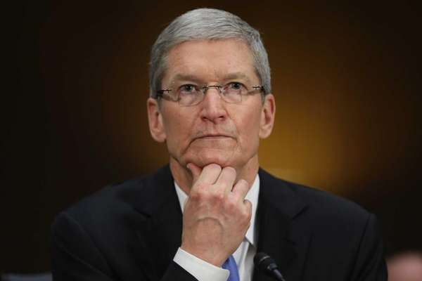 Apple chief executive Timothy Cook says the iPhone