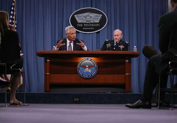 Secretary of Defense Chuck Hagel and Chairman of