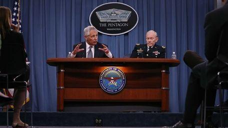 Secretary of Defense Chuck Hagel and Chairman of