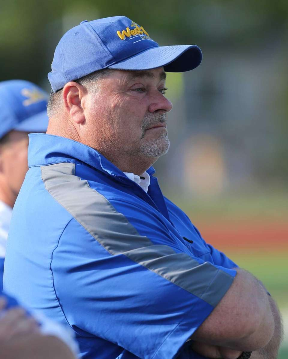 West Islip boys lacrosse head coach Scott Craig