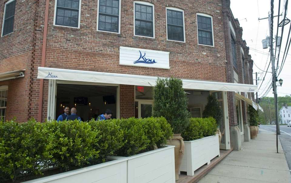 Kyma restaurant in Roslyn serves fine Greek cuisine.