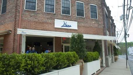 Kyma restaurant in Roslyn serves fine Greek cuisine.