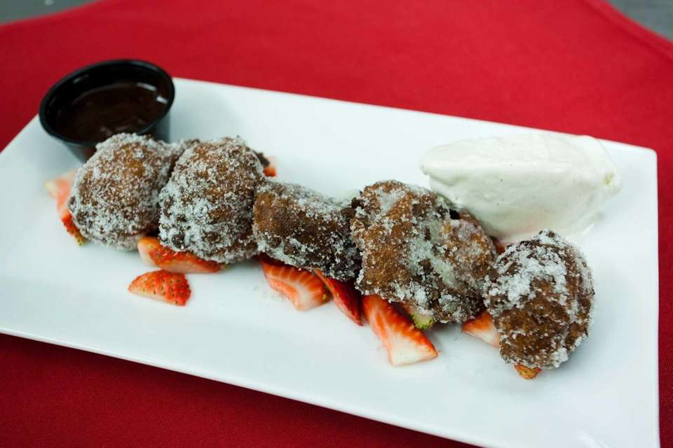 Bread & Butter Bistro's warm zeppole, with house-made