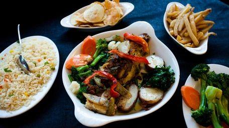 Luso's bacalhau, or salt cod, arrives savory and