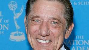 Joe Namath attends the 34th Annual Sports Emmy