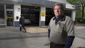 Brian Rathgaber at his auto repair shop in