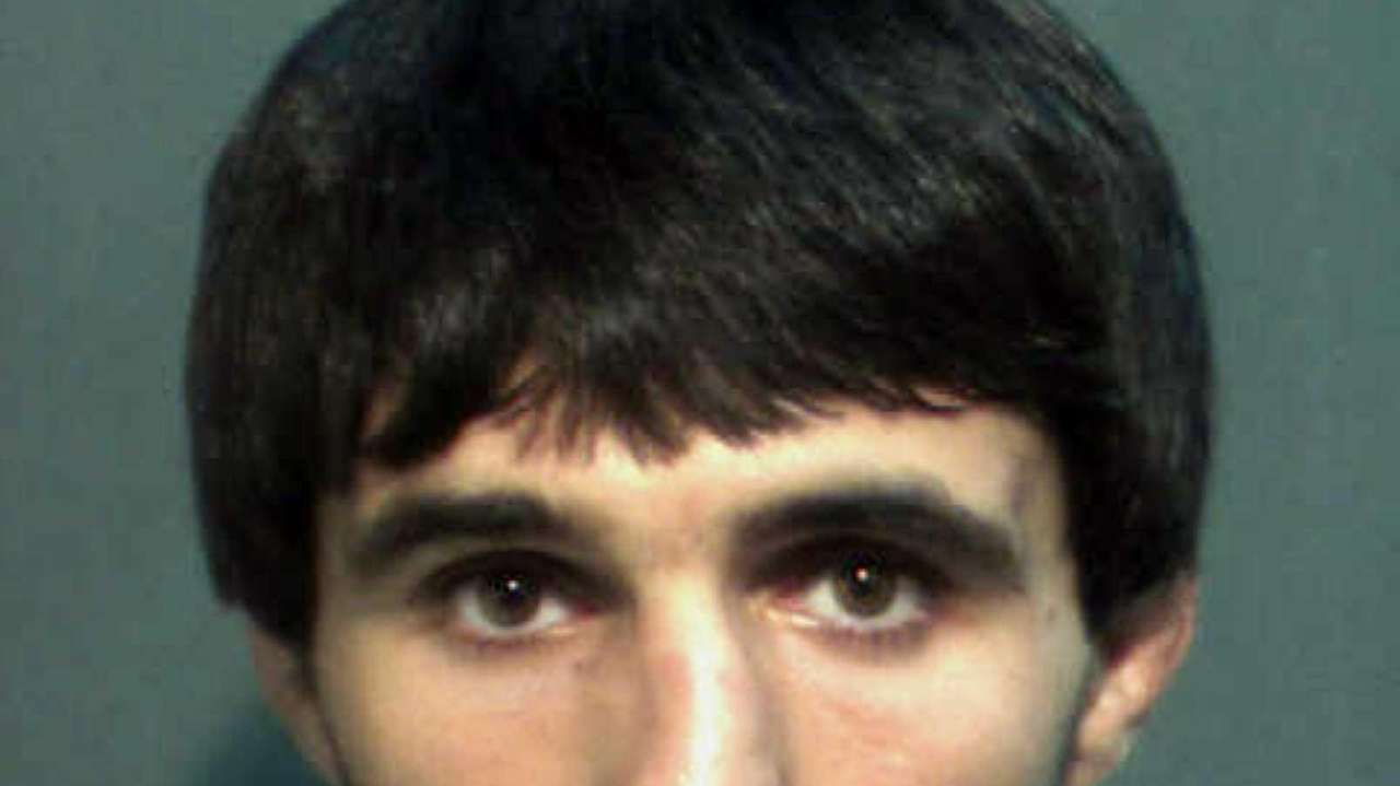 A mugshot of Ibragim Todashev after his arrest