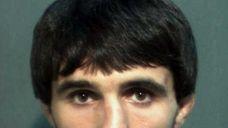 A mugshot of Ibragim Todashev after his arrest