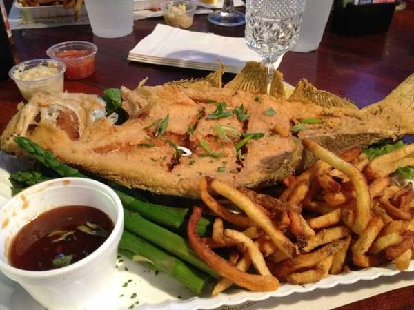 Fried fluke is a specialty at Artie's South