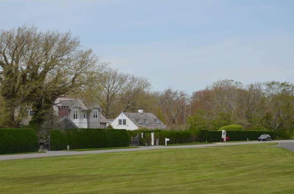 The Egypt Lane Historic District in East Hampton,