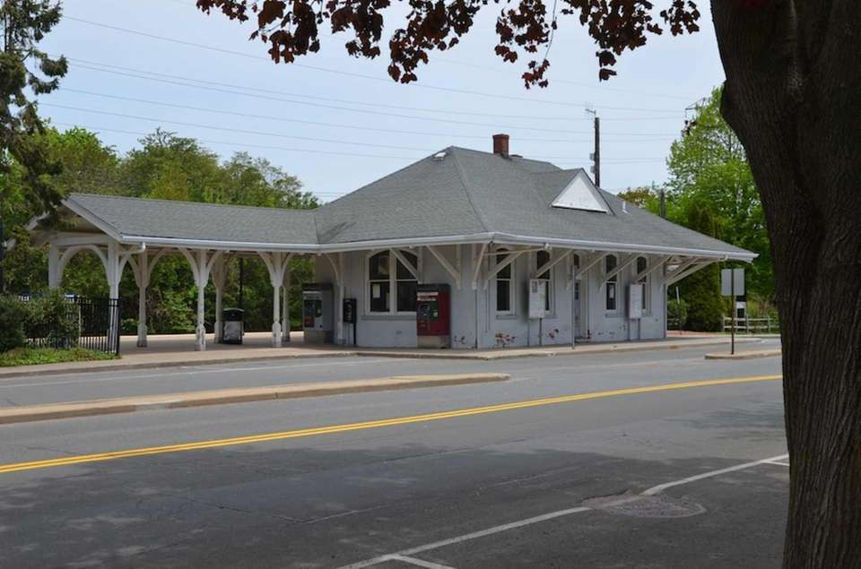 The East Hampton Long Island Rail Road station,