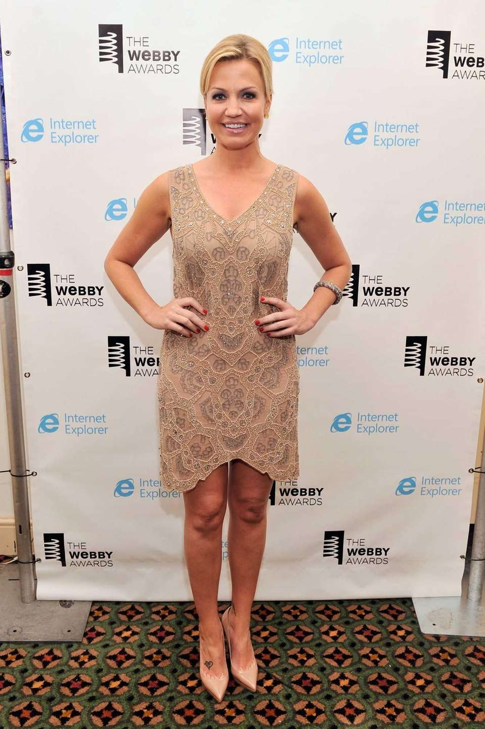 Michelle Beadle attends the 17th Annual Webby Awards