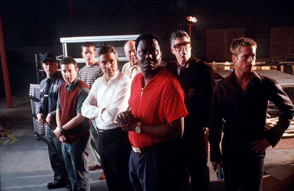 From left, Scott Caan, Eddie Jemison, Matt Damon,