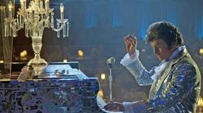 "Michael Douglas plays showman Liberace in ""Behind the"