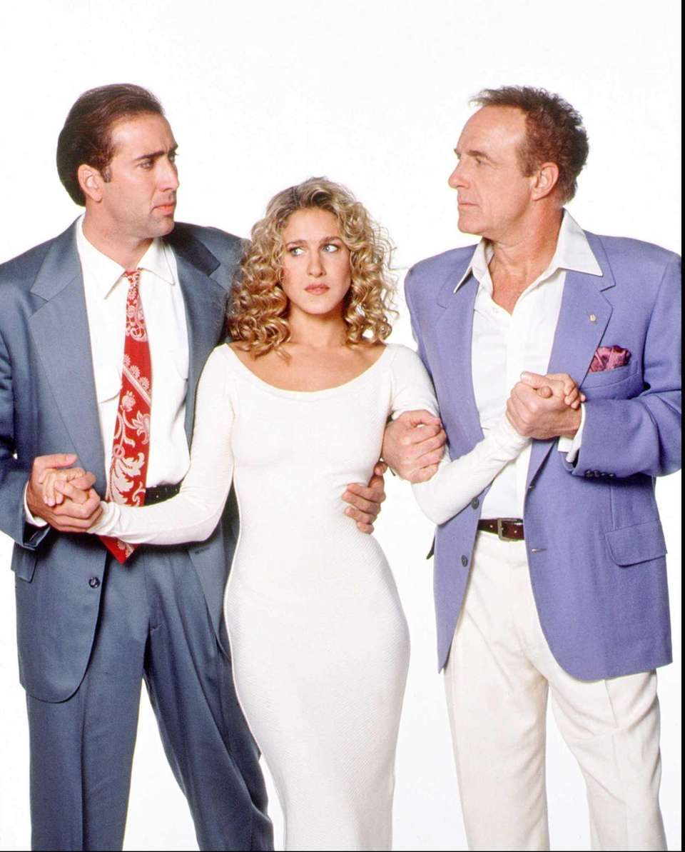 Nicholas Cage, Sarah Jessica Parker and James Caan