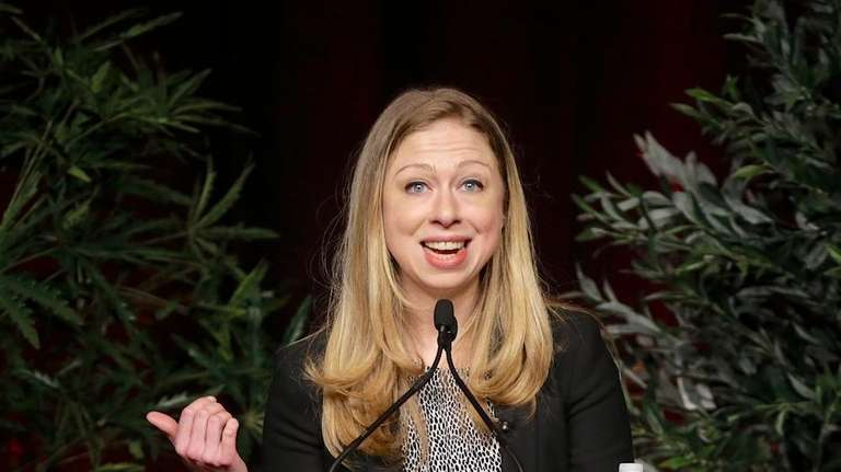 Chelsea Clinton speaks about service and youth engagement