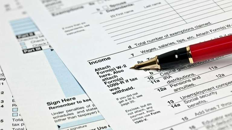 IRS tax forms.