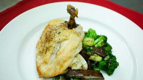 Bread & Butter Bistro's roasted French-cut chicken breast