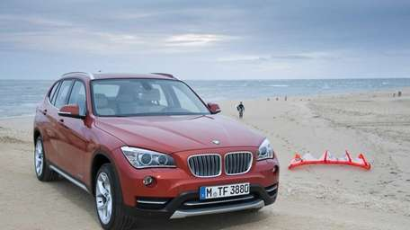 The 2013 BMW X1 is almost 5 inches