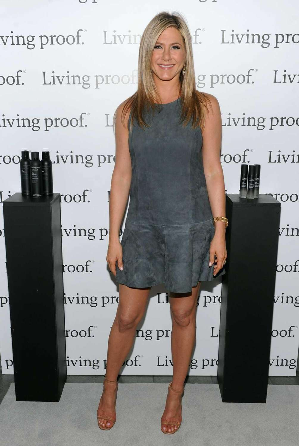 Jennifer Aniston launches the Living Proof Good Hair