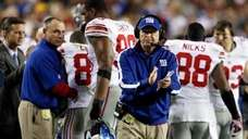 Giants' head coach Tom Coughlin ranked No. 8