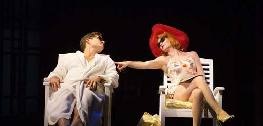Steven Pasquale and Kelli O'Hara, in quot;Far From