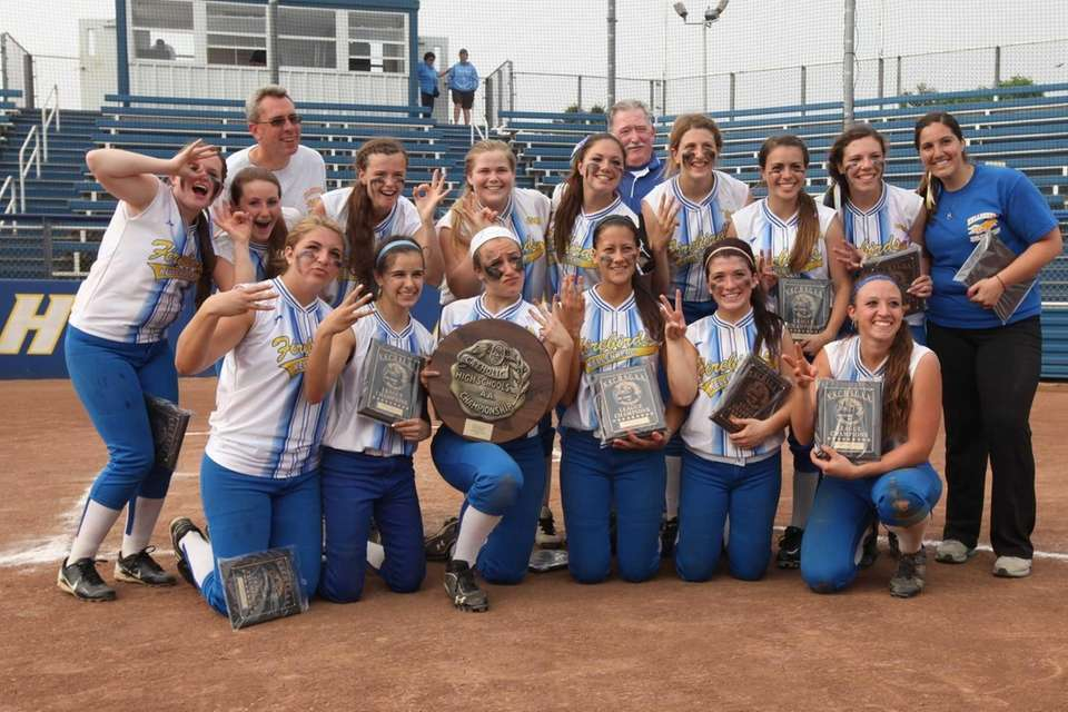Kellenberg poses for a photo as they celebrate