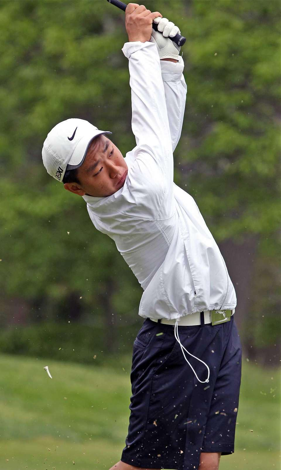 Farmingdale - May 22, 2013: Chris Yeom from