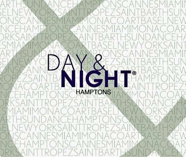 "The logo for the ""Day & Night Hamptons"""