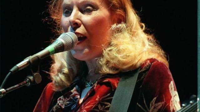 Folk-rock singer-songwriter Joni Mitchell began her famed career