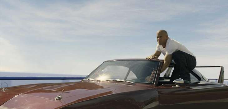 "Vin Diesel as Dom in ""Fast & Furious"