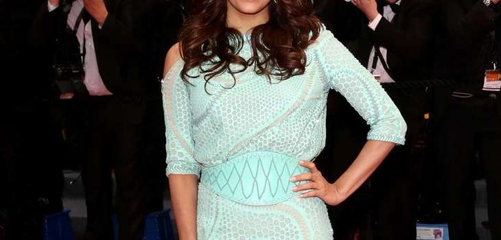 "Actress Eva Longoria attends the ""Jimmy P. (Psychotherapy"