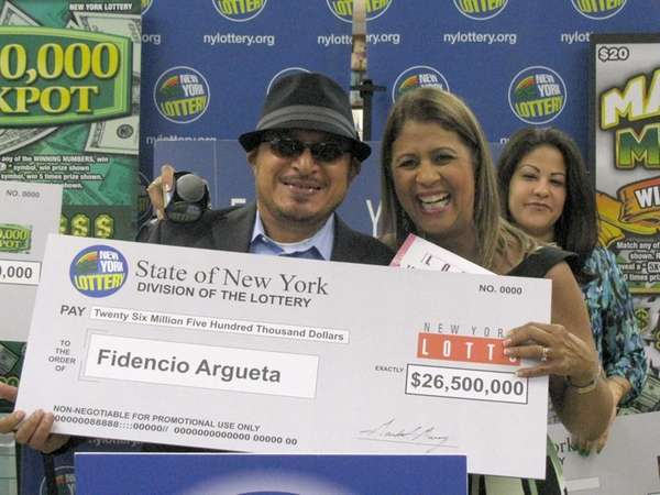 Fidencio Argueta of Brentwood wins a $26.5 million