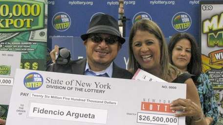 Fidencio Argueta of Brentwood wins a $26.5 million