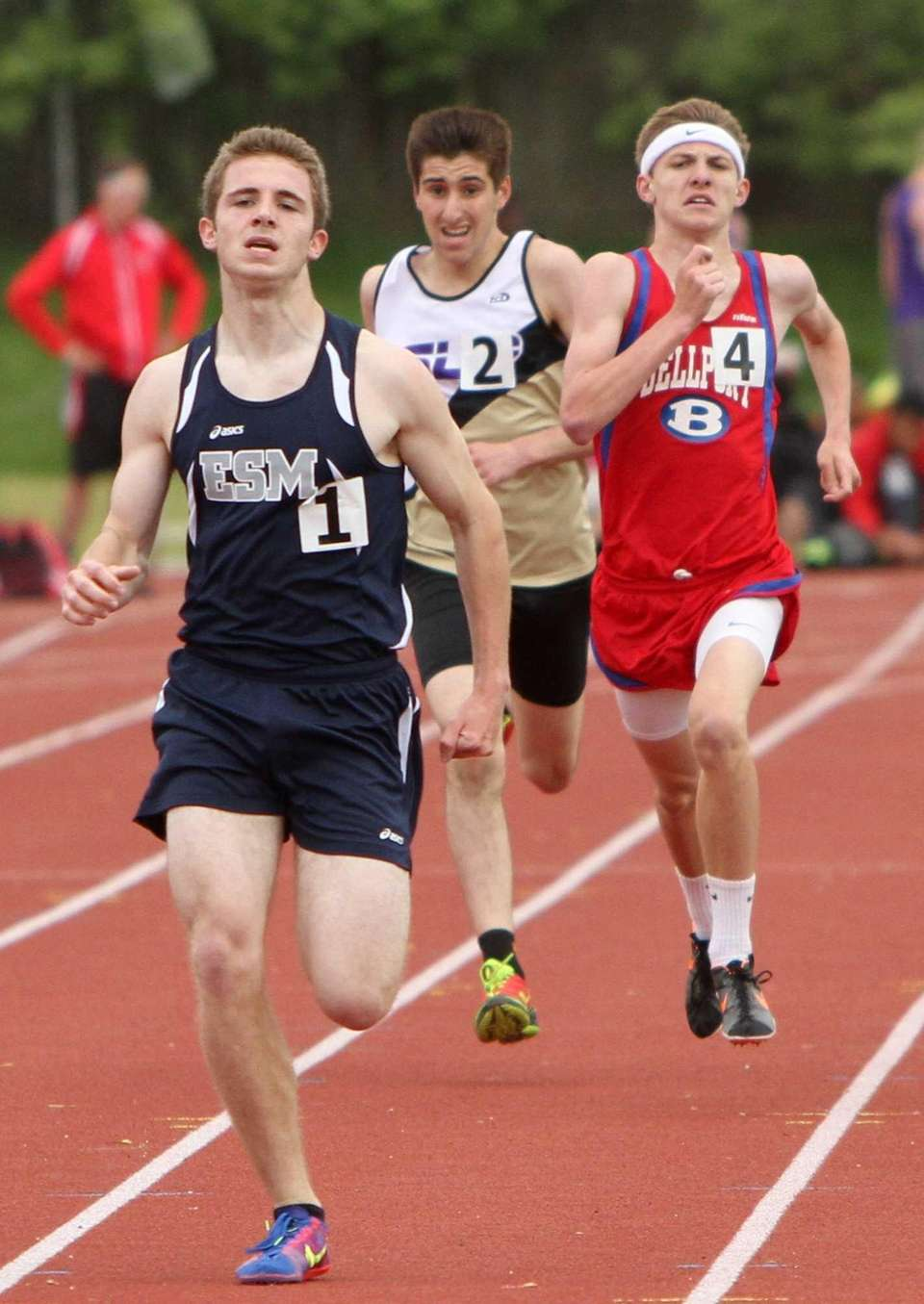 Thomas Meehan of Eastport-South Manor wins the 1600M